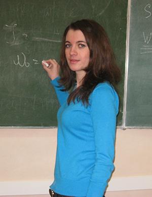 Сидорова Анна Владимировна – преподаватель кафедры