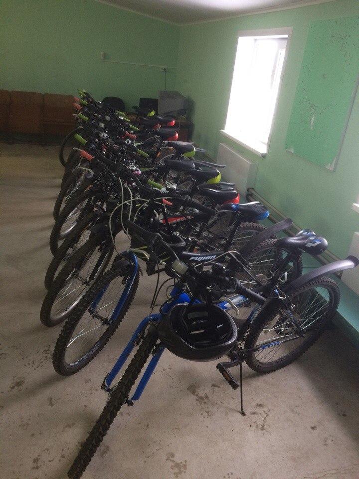 База. Велосипеды