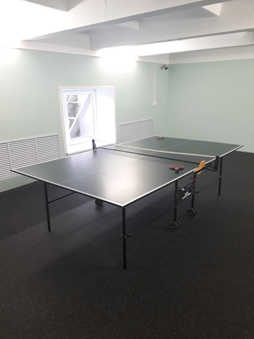 Настольный теннис. Корпус №6. Общежитие